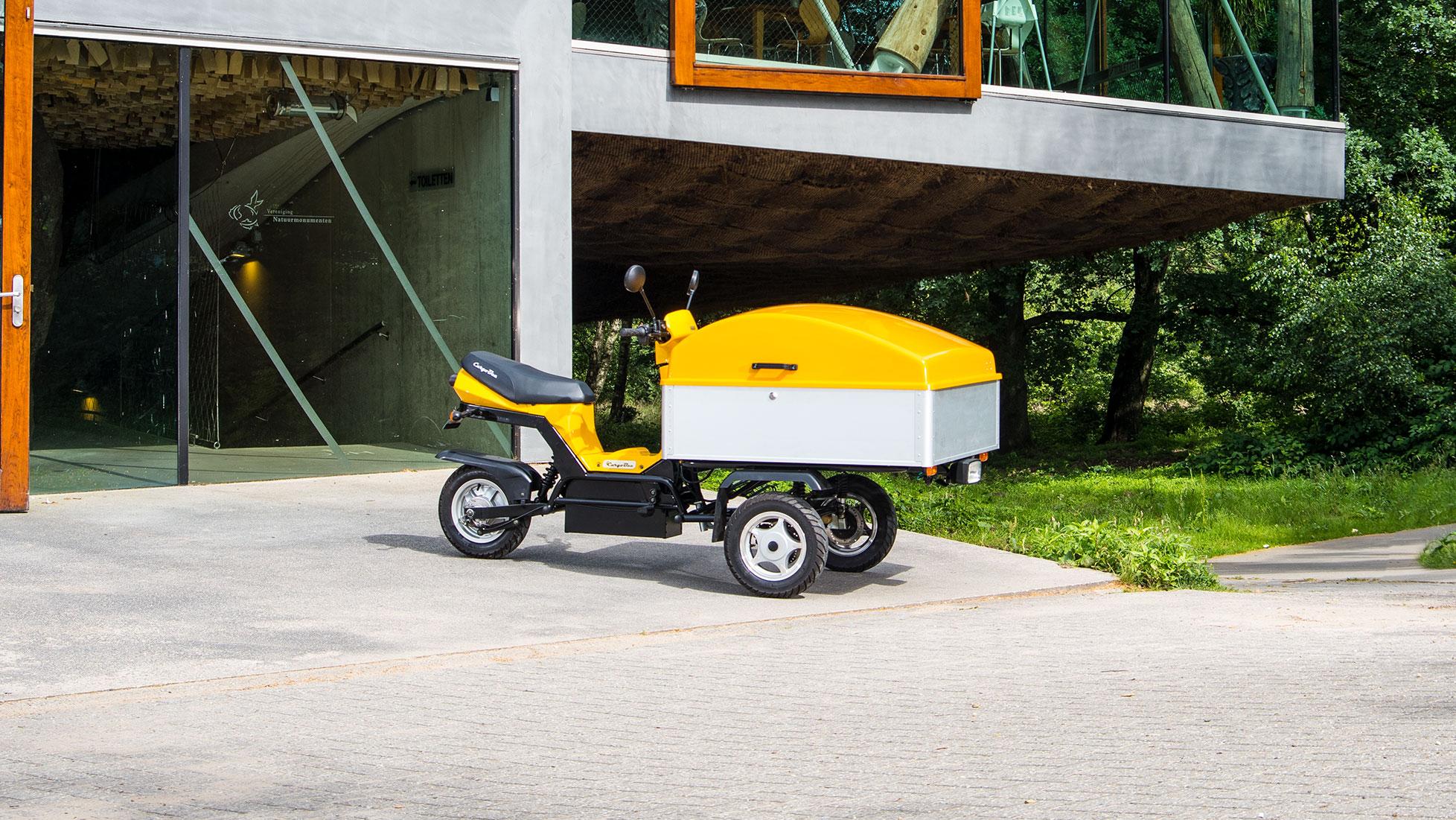 Cargobee Elektrische Bakbrommer Impressie